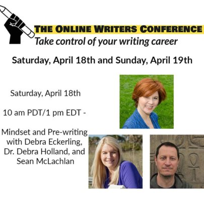 Online Writers Conference – Mindset and Pre-Writing Panel