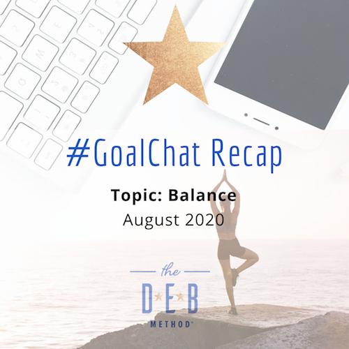 #GoalChat Balance