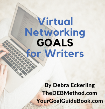 Virtual Networking Goals for Writers Workshop