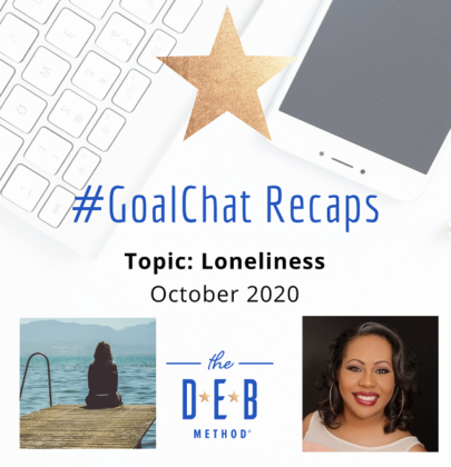 #GoalChats on Loneliness with Daree Allen