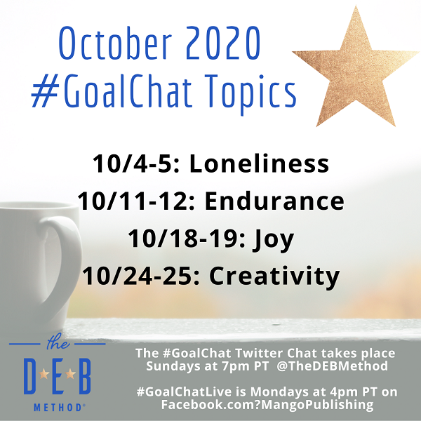 October 2020 GoalChat Topics