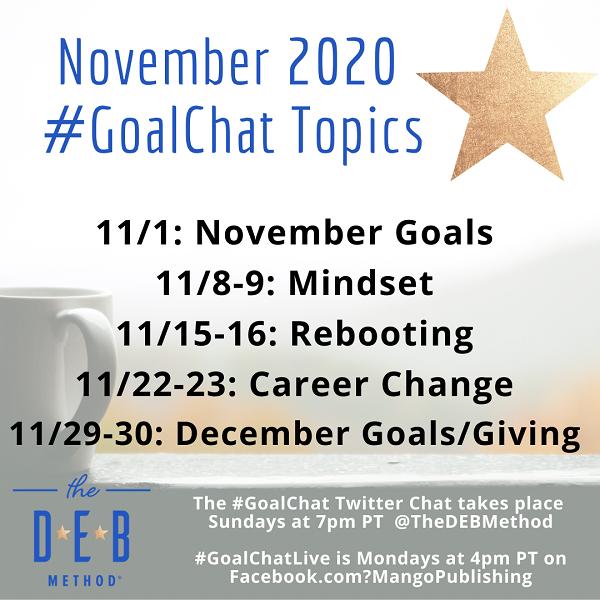 November 2020 #GoalChat
