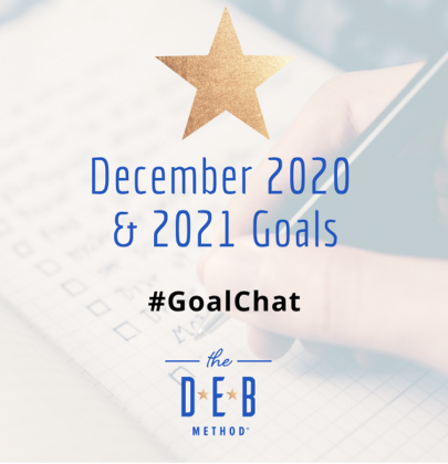 December 2020 & 2021 Goals #Goalchat
