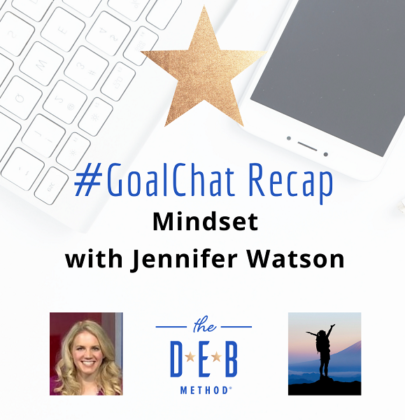 #GoalChats on Mindset with Jennifer Watson, Agorapulse