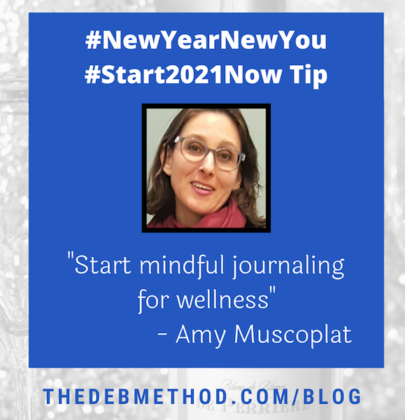 Amy Muscoplat's Tip to #Start2021Now