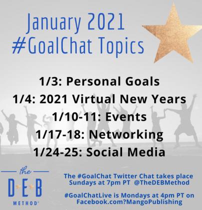 January 2021 #GoalChat Topics