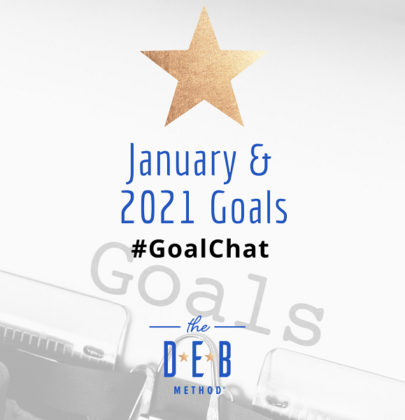January and 2021 Goals #GoalChat
