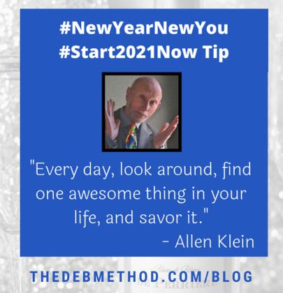 Allen Klein's Tip to #Start2021Now