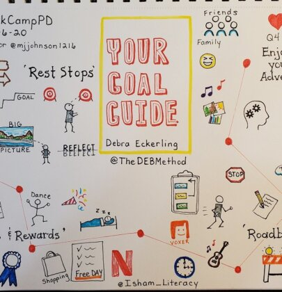 Your Goal Guide on #BookCampPD