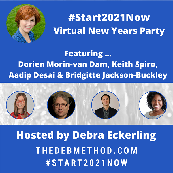 #start2021Now Virtual New Years Party