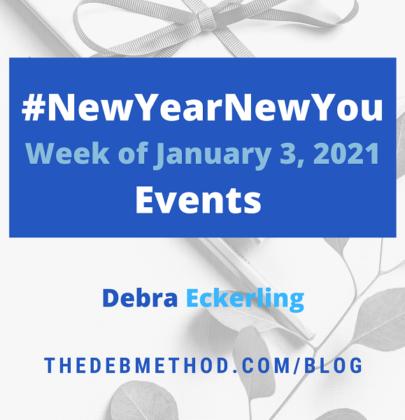 #NewYearNewYou Events – Week of January 3, 2021