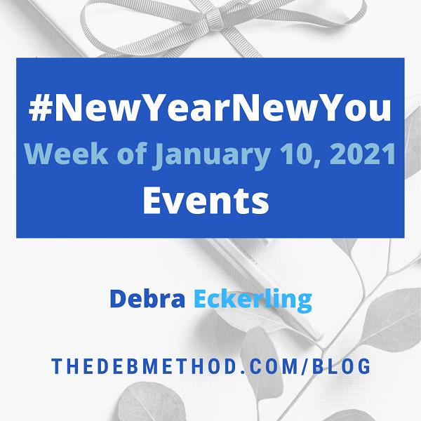 NewYearNewYou events week of January 10, 2021