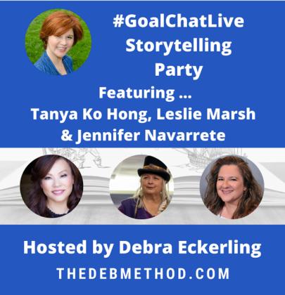 #GoalChatLive Storytelling Party