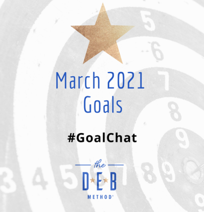 March 2021 Goals #GoalChat