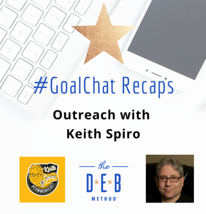 #GoalChats on Outreach with Keith Spiro