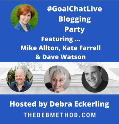 #GoalChatLive Blogging Party