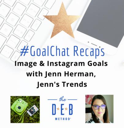 Images & Instagram Goals with Jenn Herman, Jenn's Trends