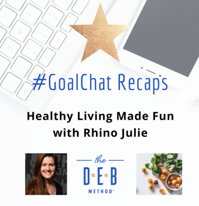 Healthy Living Made Fun with Rhino Julie