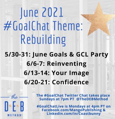 June 2021 #GoalChat Topics – Rebuilding