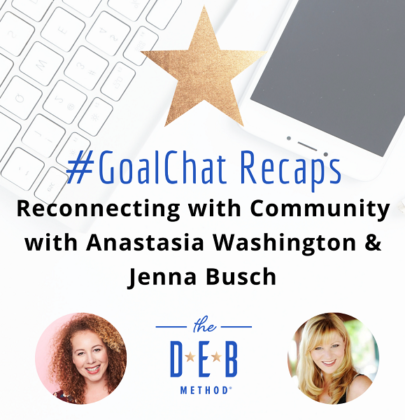Reconnecting with Community with Anastasia Washington & Jenna Busch
