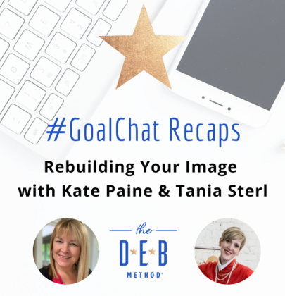 Rebuilding Your Image with Kate Paine & Tania Sterl