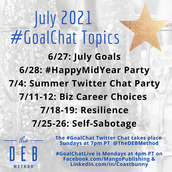 July 2021 GoalChat Topics