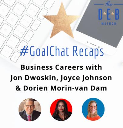 Business Careers with Jon Dwoskin, Joyce Johnson & Dorien Morin-van Dam