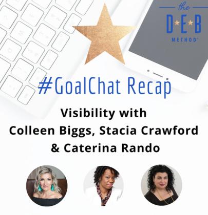 Visibility with Colleen Biggs, Stacia Crawford & Caterina Rando