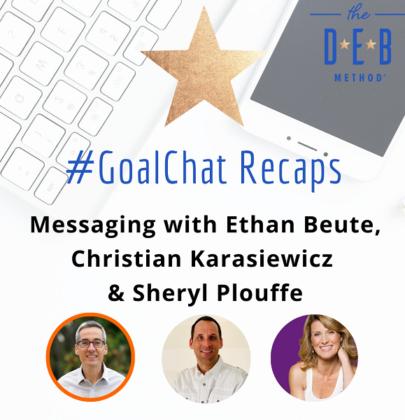 Messaging with Ethan Beute, Christian Karasiewicz & Sheryl Plouffe