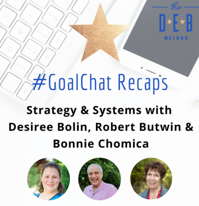 Strategy & Systems with Desiree Bolin, Robert Butwin & Bonnie Chomica